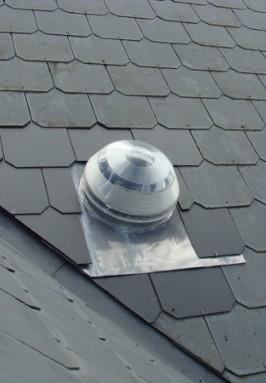 Daglicht systeem 25 cm diameter voor leien dak