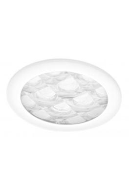 Plafondplaat tbv 160DS, diameter 25cm, Classic Optiview Wit * Lees meer info!