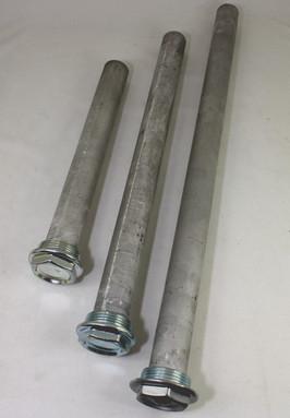"""Magnesium staaf-anode tbv stalen geemailleerde drinkwaterboilers, 1 1/4\"""" schroefdraad"""