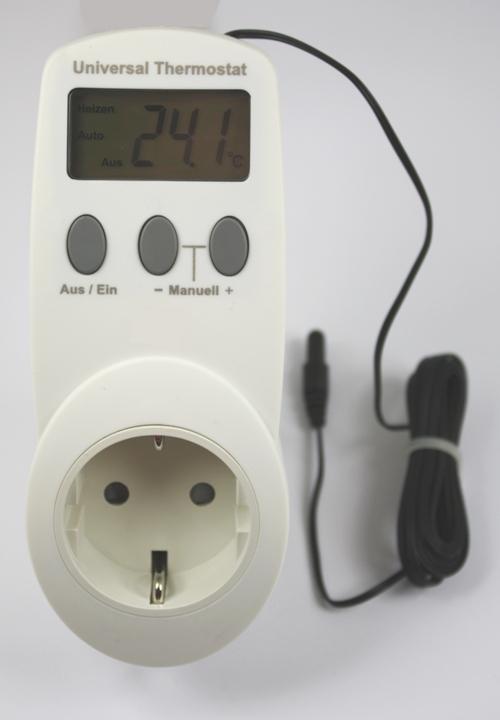 UT-300 universele thermostaat doorvoerstekker