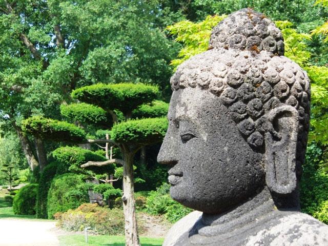 Tuindoek Boeddha