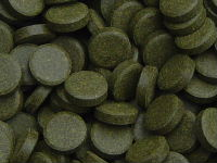 Tablets with 36% spirulina