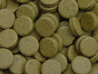 Tablets with 6% spirulina