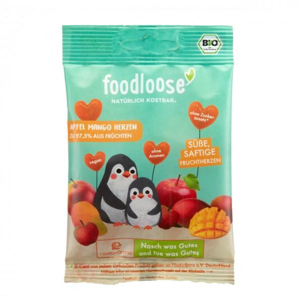 FOODLOOSE APPEL MANGO FRUITHART bio vegan