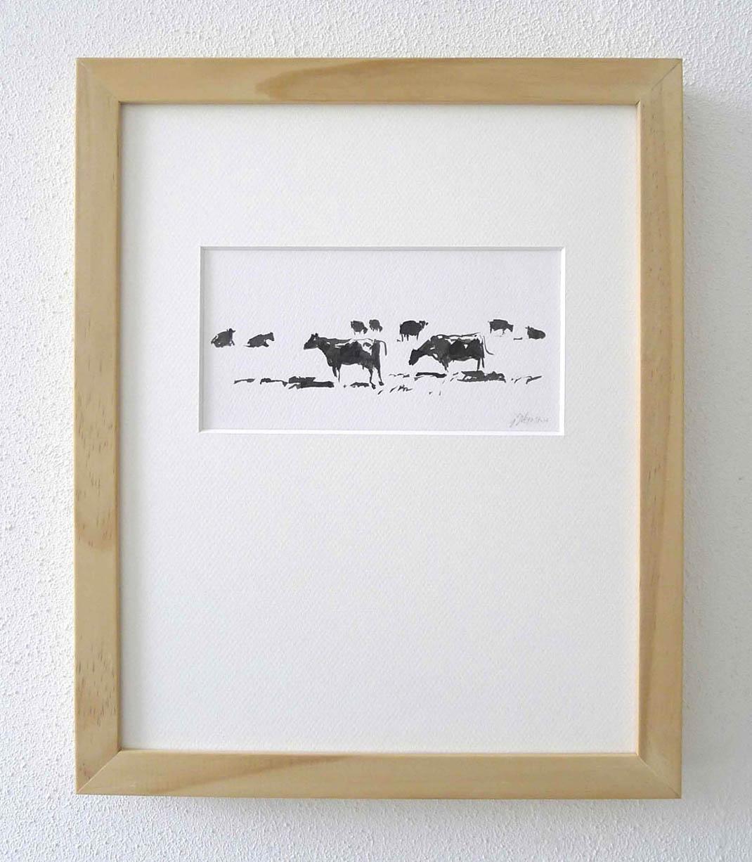 Landschap met koeien 2