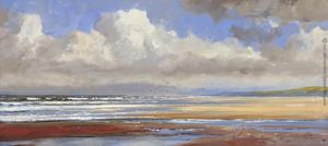 Strandgezicht Noordzee