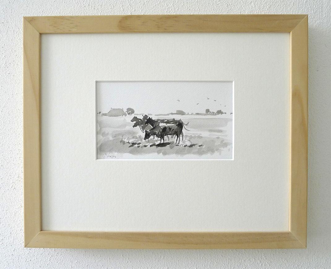 Fries zomerlandschap met koeien 2