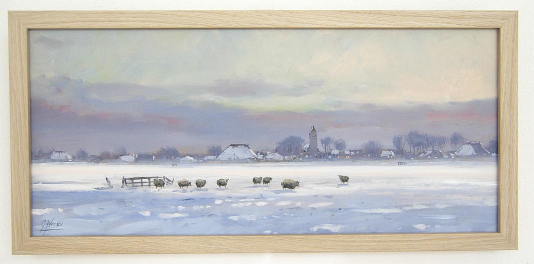 Winterlandschap bij Gauw