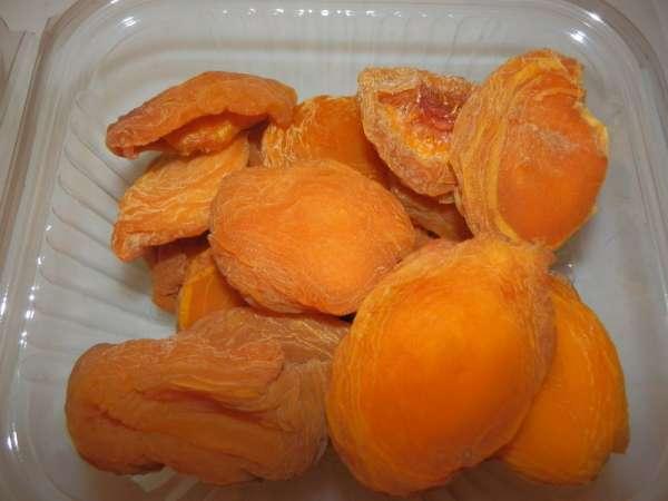 Abrikozen, zuur
