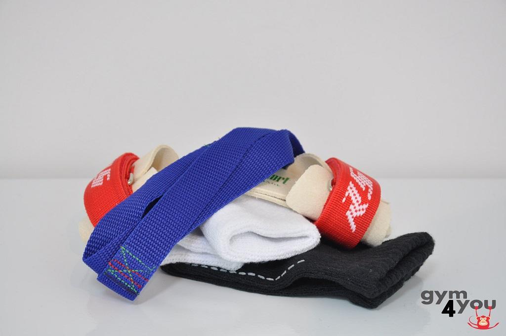 Combi leertjes + polsbandjes + strips + handschoenen