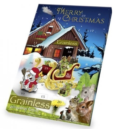 konijnen adventskalender grainless