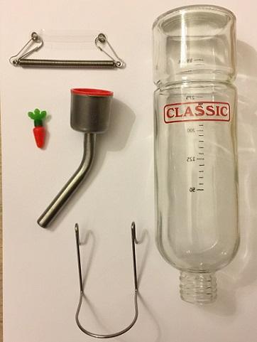 350 ml fles glas