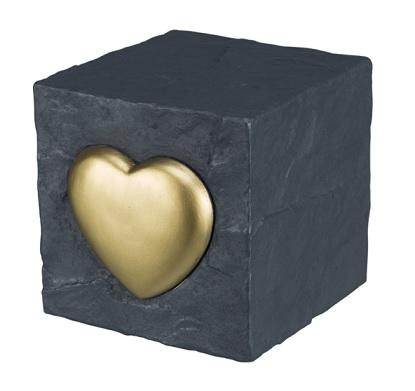 Grafsteen vierkant grijs