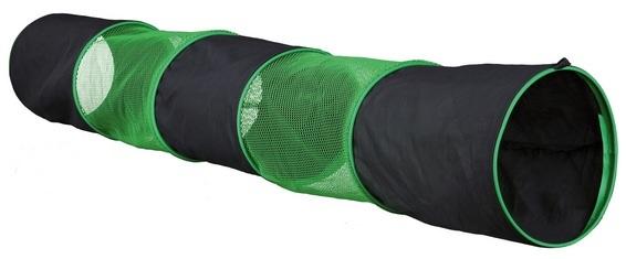 tunnel groen zwart  130 x 18 Ø.