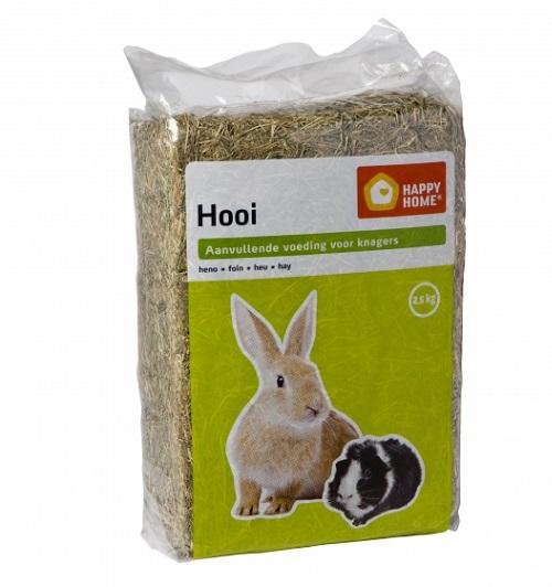 konijnen hooi 2.5 kg HH