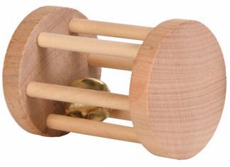 Speelrol hout voor knaagdieren klein