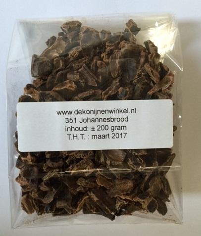 Johannesbrood 200 gram.