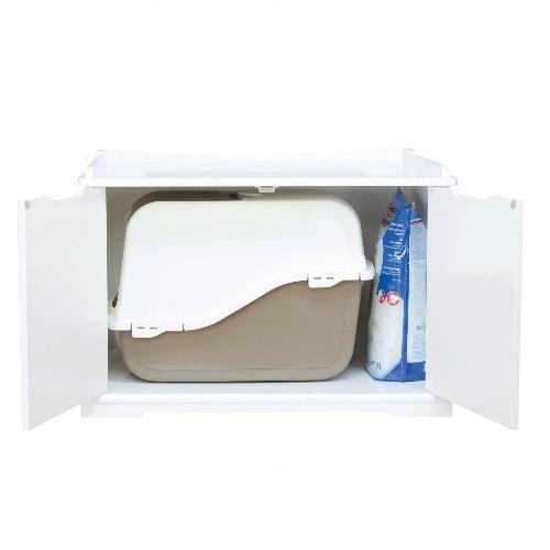 Konijnen hok / toilet  kast