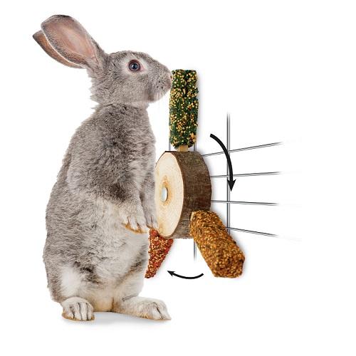 konijnen knaag propellor