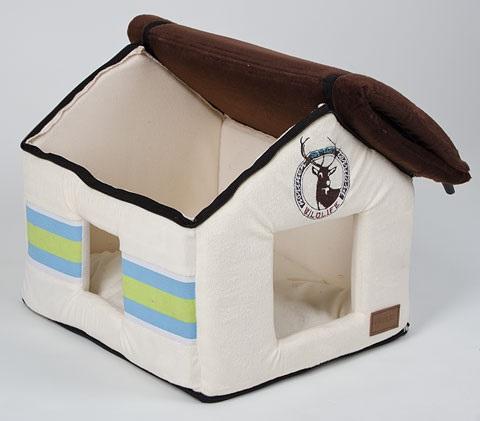 konijnen huis bruin dak