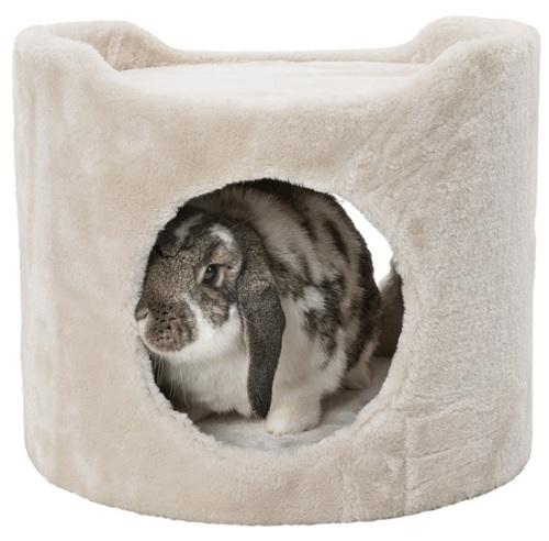 zacht rond konijnen huis  30 x 34 Ø