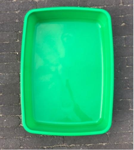 Plasbak groen groot