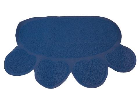 uit de kooispring mat donker blauw