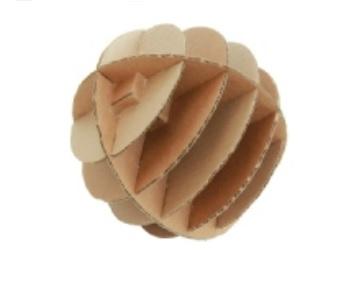 kartonnen bezigheids bal