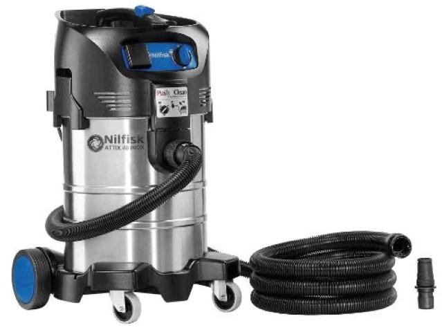 Nilfisk Stof-waterzuiger ATTIX 40-21 PC INOX
