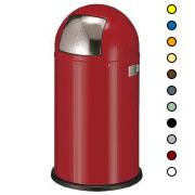 Afvalbak 50ltr, Pushboy afvalbak in diverse kleuren.