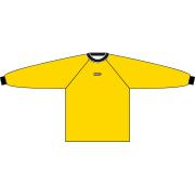 Keepershirt geel BSC '68