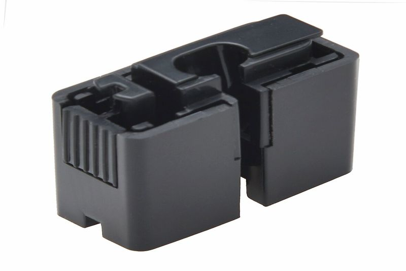 ALLDOCK Adapter ClickIn Schwarz, mit Micro-USB-Kabel
