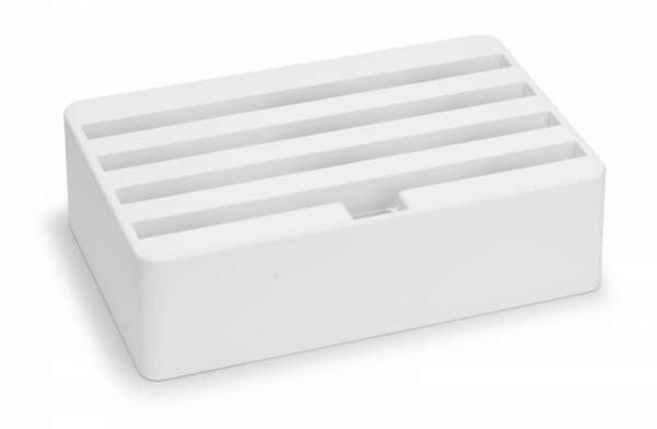 ALLDOCK Weiß Medium