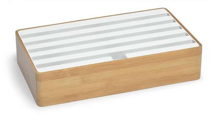 ALLDOCK Bambus / Weiß Groß