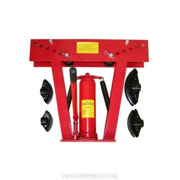 Pijpenbuiger   hydraulisch 12 ton