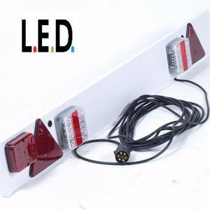Verlichting Verlichtingsbalk 7 polige stekker stekker legte 1.22 m ...