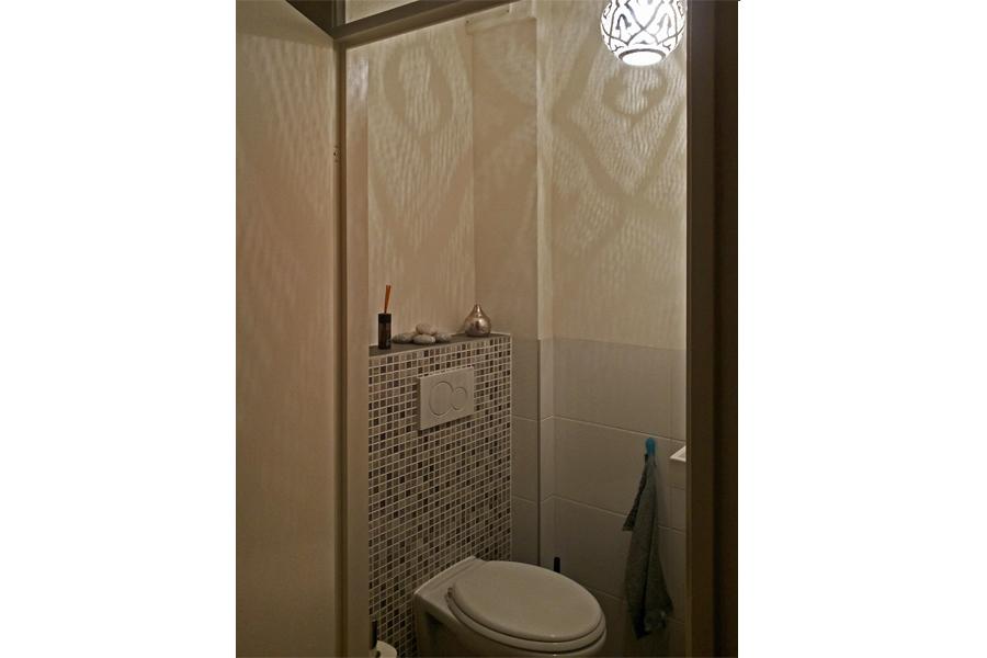 Arabische hanglamp Kenzi in toilet