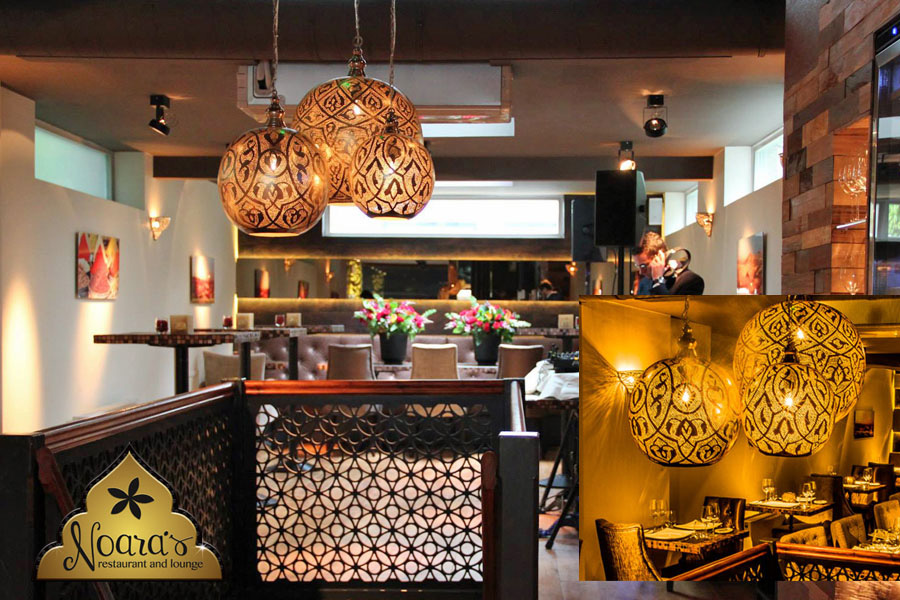 Restaurant en lounge Noara\'s in Amsterdam
