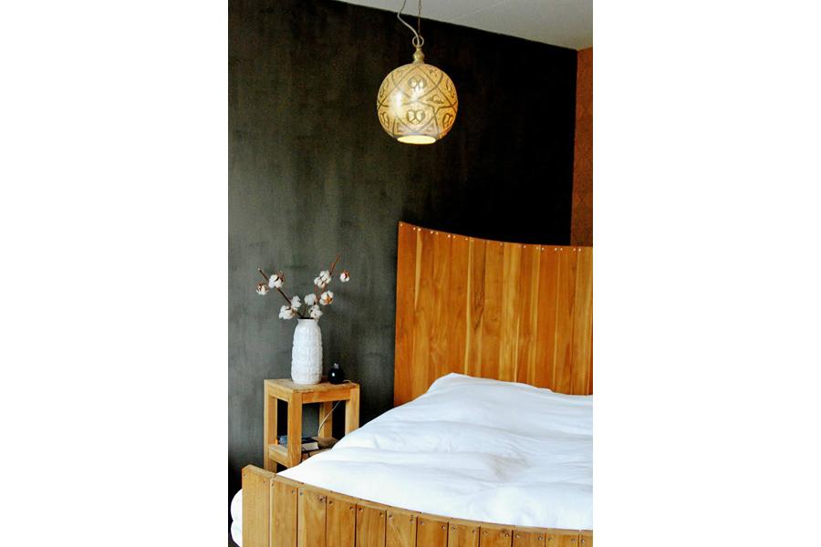 arabische lamp isra in slaapkamer