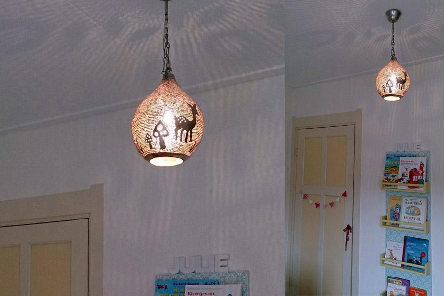 Kinderlamp bos