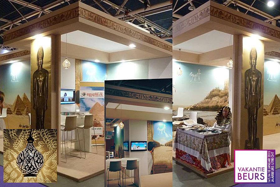 Vakantiebeurs Jaarbeurs Utrecht - Egypte