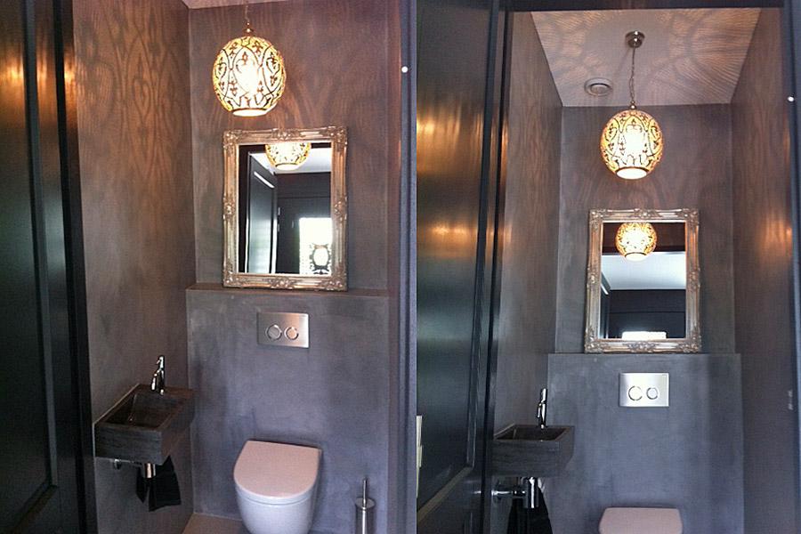 arabische verlichting voor toilet