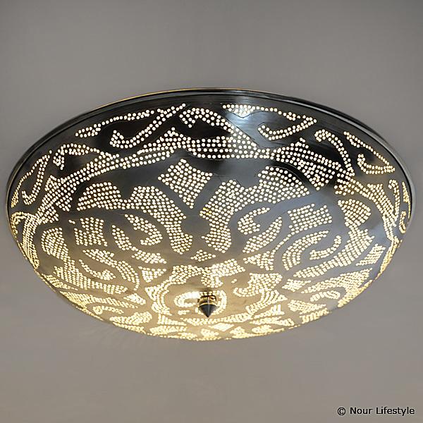 Arabische plafondlamp Warda - A