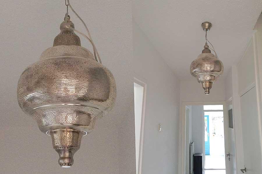 Hal met hanglamp Basha