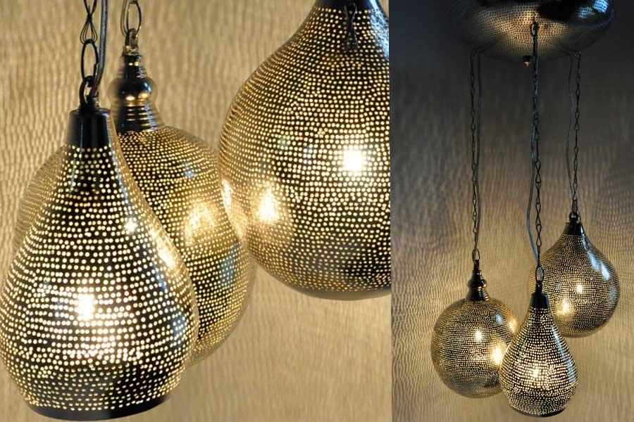 Groep Oosterse lampen