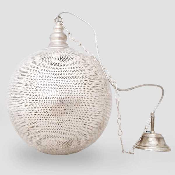 Arabische hanglamp Arwa - gesloten bol