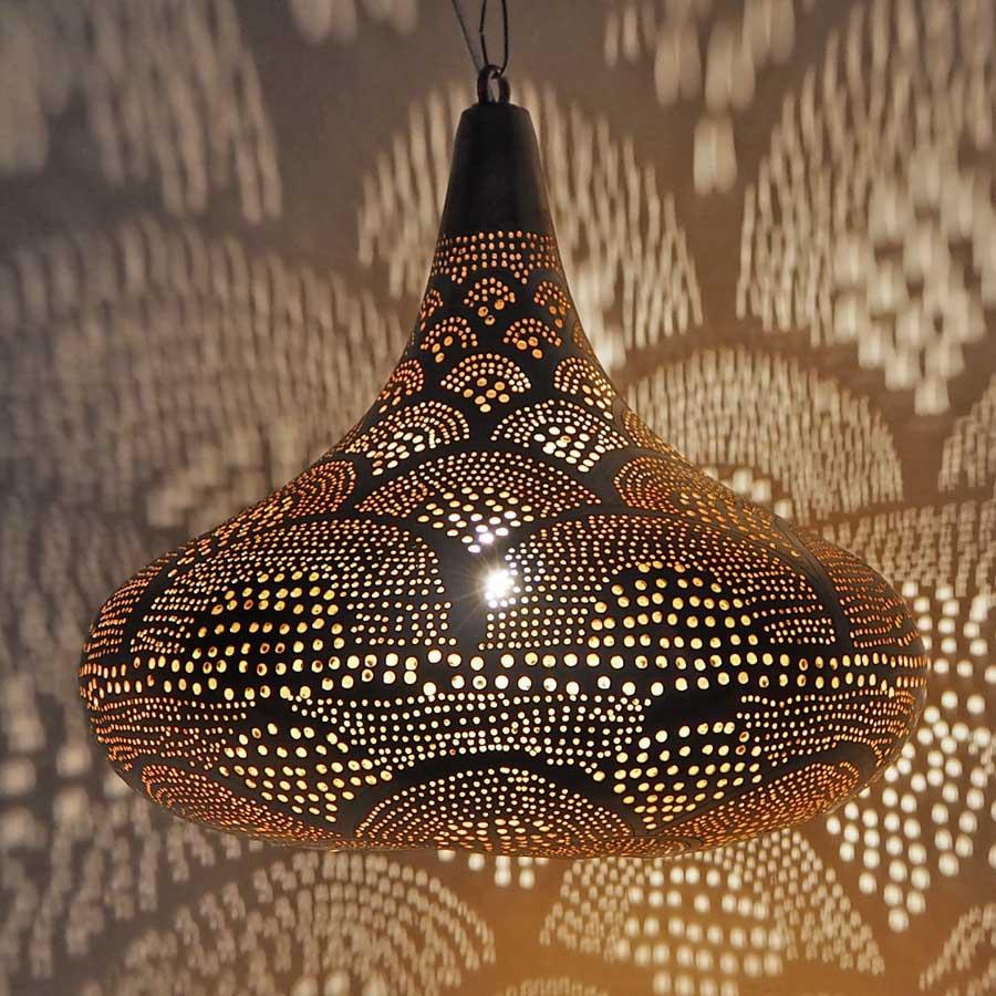 Arabische lamp Selma R - geel