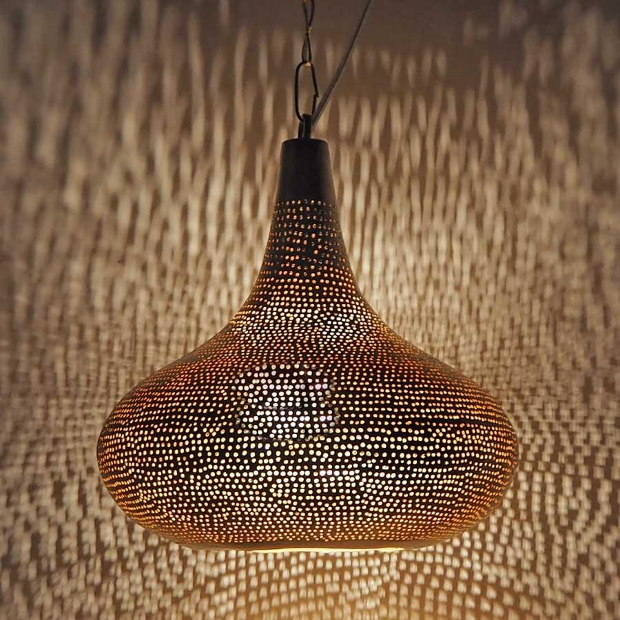 Arabische lamp Selma G - geel