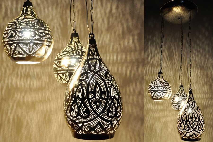 Groep lampen - oplossing plafond