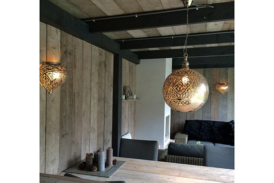 Marokkaanse Lampen Huis : Oosterse lampen veranda